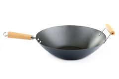 Wok isolated Stock Photography