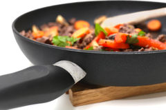 Wok in a pan Stock Image