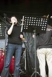 wokalista Zdjęcie Stock