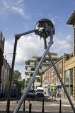 Woking Martian Sculpture Stock Photos