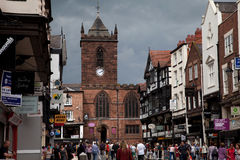 wokoło Chester widok Zdjęcie Royalty Free