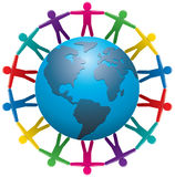 wokoło ludzi światowych