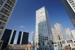 wokoło budynków cbd wysokiego wzrosta Zdjęcie Royalty Free