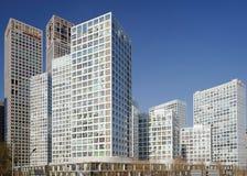 wokoło budynków cbd wysokiego wzrosta Zdjęcia Royalty Free