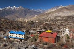 Wokoło wioski Muktinath Zdjęcie Stock