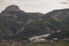 Wokoło wioski toga w Castellon Zdjęcia Stock