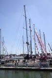Wokoło Jacht Światowej Rasy Zdjęcia Stock