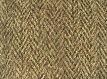 Wolachtige stoffentextuur - dikke bruine wollen doek Royalty-vrije Stock Afbeelding