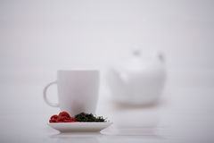 Wolberry tea presentation Stock Image