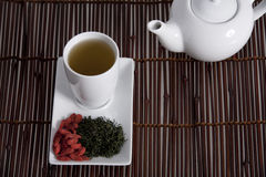 Wolberry tea presentation Royalty Free Stock Photography