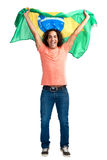 Wold cup fan brazil Royalty Free Stock Photography