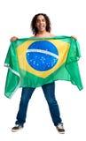 Wold cup fan brazil Royalty Free Stock Photo