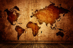 Wold map Royalty Free Stock Image
