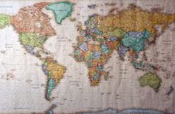 Wold Map Stock Photos