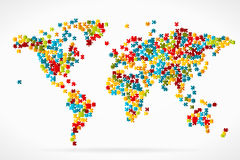Wold map Stock Images