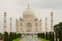 Wold Marvel Taj Mahal Stock Photo