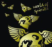 Wold of spirit Royalty Free Stock Image