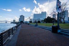 Woldenberg Park New Orleans, Louisiana Stock Photo