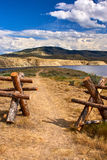 Woldford Mountain Reservoir Stock Image