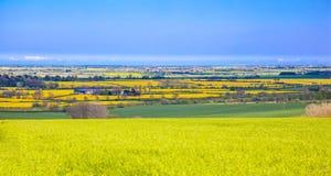wolds взгляда lincolnshire Стоковое фото RF
