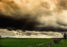 Wolds di Lincolnshire Immagine Stock