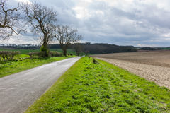 Wolds di Lincolnshire Fotografie Stock