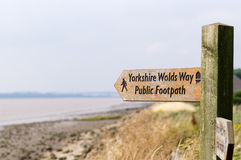 The Wolds Way Royalty Free Stock Images