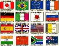 Woldwährungen Lizenzfreies Stockfoto