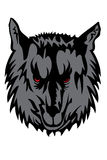 Wolf. Vector image of grey wolf Vector Illustration