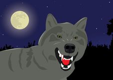 wolf royaltyfri illustrationer