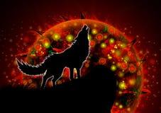 Wolf royalty-vrije illustratie