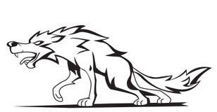 Wolf vektor abbildung