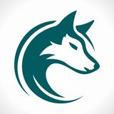 Wolf  ( abstraction ) Royalty Free Stock Photos