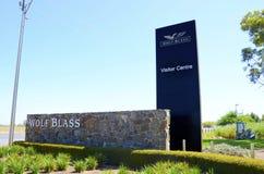 Wolf Blass Estate Winery Barossa Valley, besökaremitt Arkivbilder