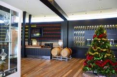 Wolf Blass Estate Winery Barossa Valley, besökaremitt Royaltyfri Fotografi