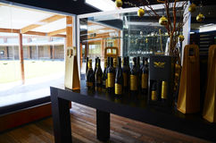 Wolf Blass Estate Winery, Barossa Valley, centro do visitante fotografia de stock