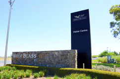 Wolf Blass Estate Winery, la vallée Barossa, centre de visiteur Images stock