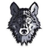 Wolf bolt Emblem Royalty Free Stock Image