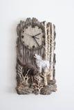 Wolf Clock Stockfoto