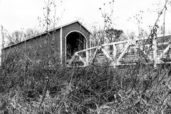 Wolf Covered Bridge Royalty Free Stock Photos