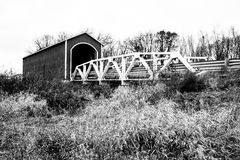 Wolf Covered Bridge Stock Image