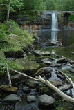 Wolf Creek Falls. In Banning State Park royalty free stock photo