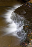 Wolf Creek At Letchworth State Park. Falling Water at Wolf Creek In Letchworth State Park Royalty Free Stock Images