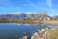 Wolf Creek, Utah. Wasatch Front at Wolf Creek in Utah Royalty Free Stock Images
