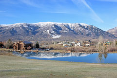 Wolf Creek, Utah. Wasatch Front at Wolf Creek, Utah Stock Image