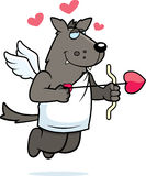 Wolf Cupid Stock Image