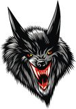 Wolf devil Royalty Free Stock Images