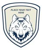 Wolf face. Illustrator design .eps 10 Royalty Free Stock Image