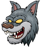 Wolf Face Royalty Free Stock Photography