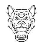 Wolf Head Images libres de droits